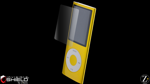 InvisibleShield Original for the Apple iPod nano 4th Gen