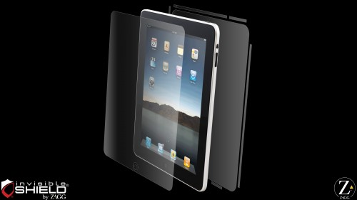 InvisibleShield Original for the Apple iPad