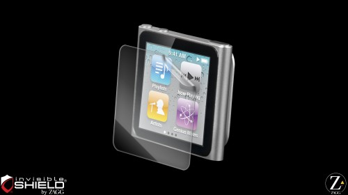 InvisibleShield Original for the Apple iPod nano 6th Gen