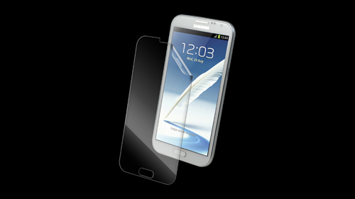InvisibleShield High Definition for the Samsung Galaxy Note II