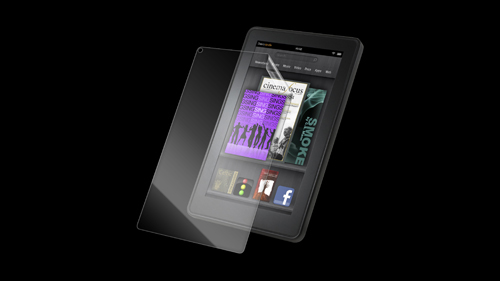 InvisibleSHIELD High Definition for the Amazon Kindle Fire