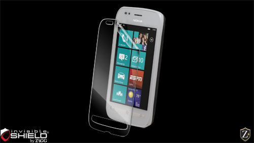 InvisibleShield Original for the Nokia Lumia 710