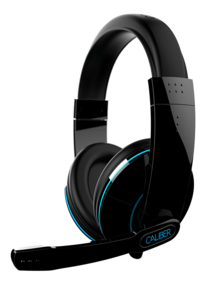 iFrogz Caliber Stealth Mobile Gaming Headphones with Mic