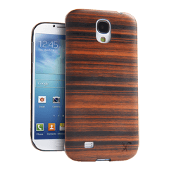 iFrogz Samsung Galaxy S4 Natural Wood Cover Magma