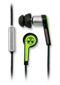 iFrogz Equinox with Mic Noise Isolating Ear Buds Green
