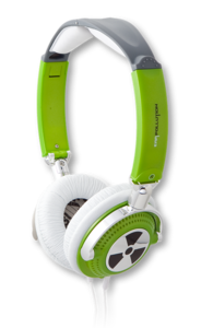 iFrogz EarPollution Nerve Pipe Headphones Toxic
