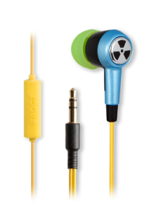 iFrogz EarPollution Ozone Earbuds with Mic