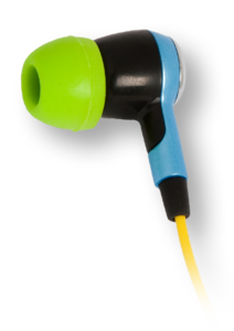iFrogz EarPollution Ozone Blue/Green