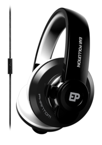 iFrogz EarPollution Phantom Headphones with Mic Black