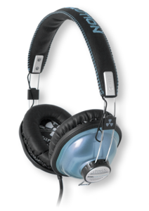 iFrogz EarPollution Throwbax Metallic Blue