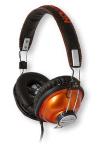 iFrogz EarPollution Throwbax Orange