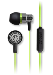 iFrogz Audio Transport with Mic Green