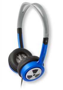 iFrogz EarPollution Toxix Blue