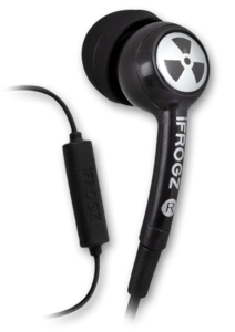 iFrogz EarPollution Plugz Earbuds with Mic