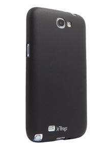 iFrogz Samsung Galaxy Note II SoftGloss Cover Black