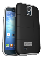 iFrogz Samsung Galaxy S4 Cocoon Cover Black/Gray