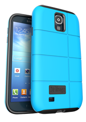 iFrogz Samsung Galaxy S4 Cocoon Cover Blue\/Black