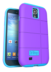 iFrogz Samsung Galaxy S4 Cocoon Cover Purple\/Blue