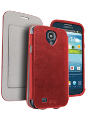 Samsung Galaxy S4 PocketBook Cover Red
