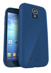 iFrogz Samsung Galaxy S4 SoftGloss Cover Blue