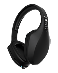 iFrogz Audio Coda Forte Bluetooth Headphones with Mic Black