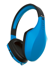iFrogz Audio Coda Forte Bluetooth Headphones with Mic Blue