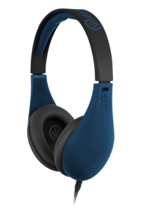 iFrogz Audio Coda Headphones with Mic Blue
