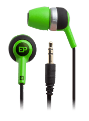 iFrogz Audio Heat Ear Buds with Memory Foam Tips Green