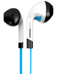 iFrogz Audio InTone EarBuds with Mic Blue