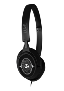 iFrogz Audio Luxe Headphones with Mic Black