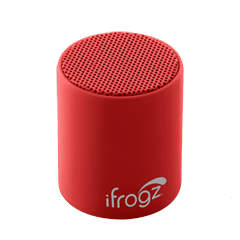 iFrogz Coda POP Bluetooth Speaker Black Cherry