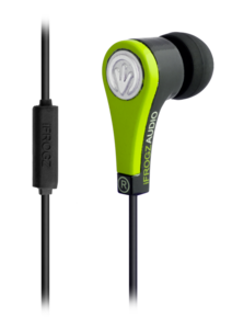 iFrogz Audio Quake Earbuds with Mic Green
