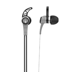 iFrogz Audio Flex Wing EarBuds with Mic Black