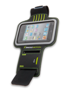 iFrogz Apple iPod Touch and iPhone Motion Armband Black
