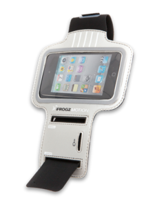 Motion Armband for iPod Touch 4th Gen and iPhone 3G 3GS Gray