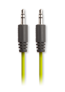 iFrogz Audio Auxiliary Connection Cable (3.5mm) Green
