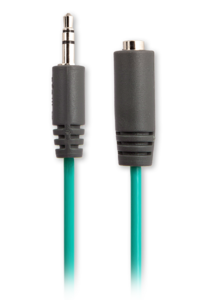 iFrogz Audio Extension Cable (3.5mm) Teal
