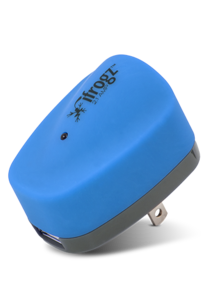 iFrogz UniqueCharge 2.1 Amp USB Wall Charger Blue/Gray