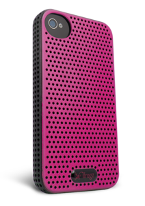 iFrogz Apple iPhone 4/4S Breeze Pink/Black