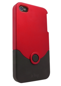 iFrogz Apple iPhone 4/4S Luxe Original Case Red/Black