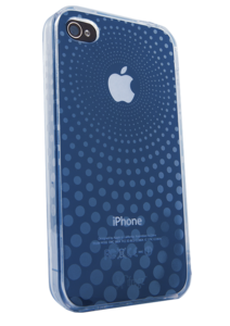 iFrogz Apple iPhone 4/4S Soft Gloss Case Blue