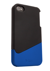iFrogz Apple iPhone 4/4S Universal Luxe Ascend Case Black/Blue