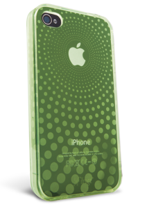 iFrogz Apple iPhone 4/4S Universal Soft Gloss Case Green