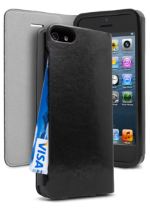 iFrogz Apple iPhone 5 PocketBook Cover Black