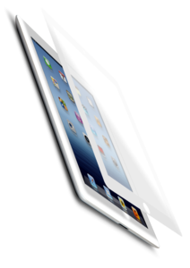 iFrogz OptiVue Screen Protection for Apple iPad 2/3/4th Gen