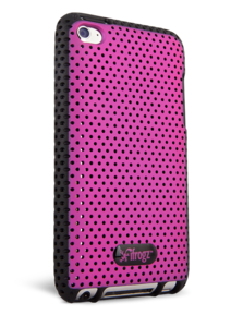 iFrogz Apple iPod touch 4th Gen Breeze Cover Pink/Black