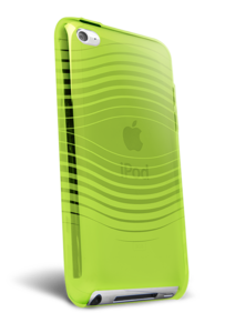 iFrogz Apple iPod Touch 4th Gen Soft Gloss Wave Lime