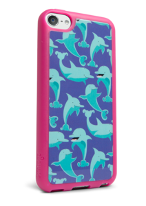 iFrogz Apple iPod touch 5th Gen Mix Cover Dolphins