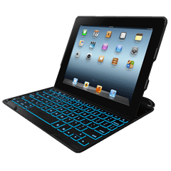 ZAGGkeys Profolio + Black (Apple iPad 2/3/4th Gen)