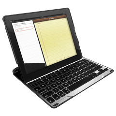 ZAGGkeys PROfolio Keyboard For Apple iPad 2